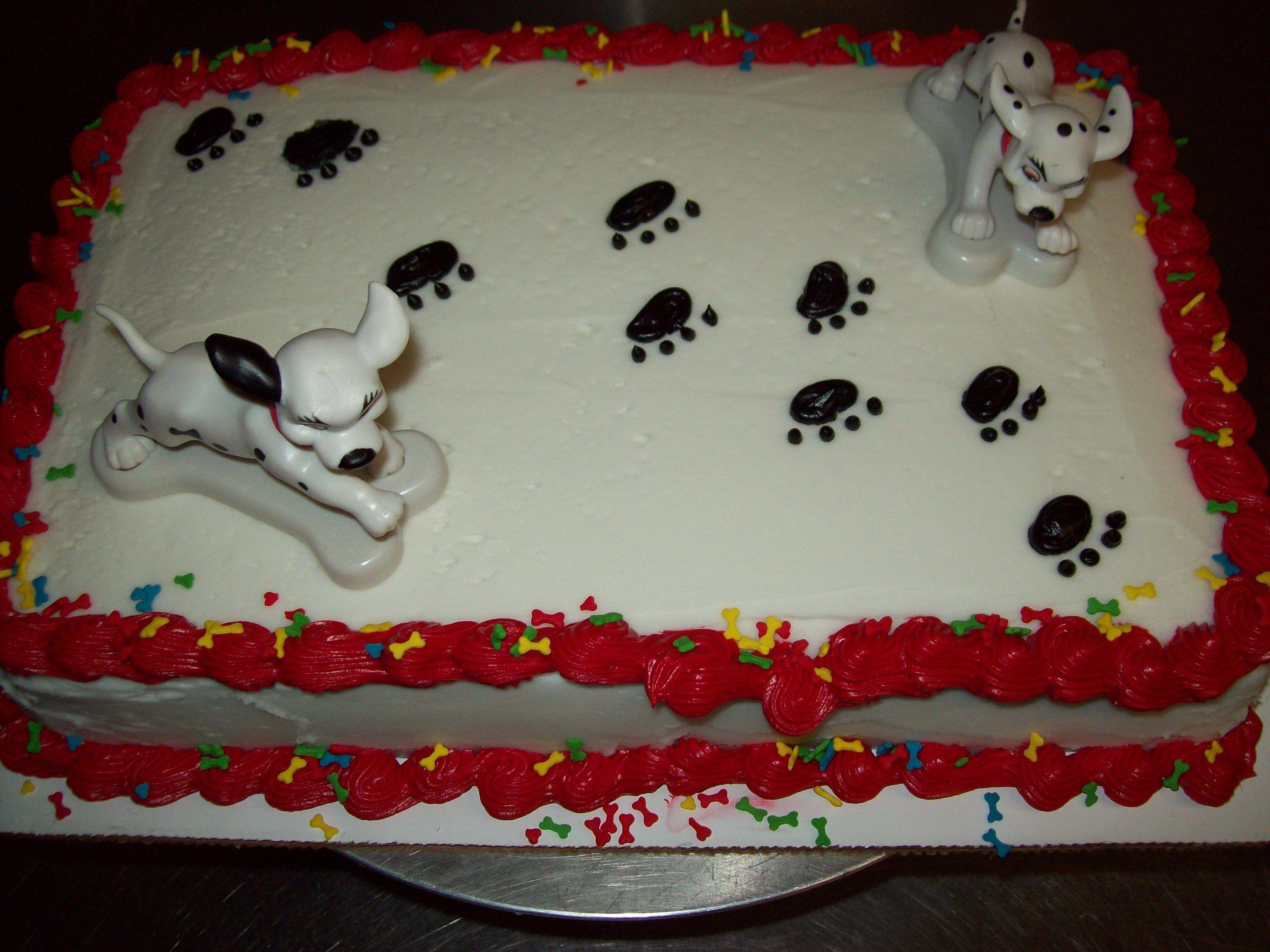 101 dalmation cake