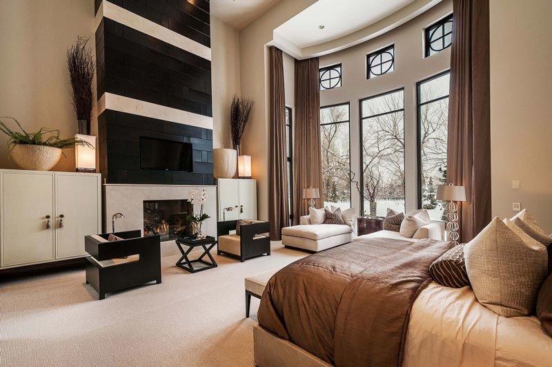 Master Bedroom Luxury Interiors Pinterest