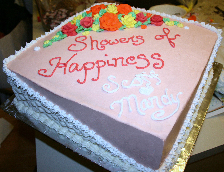 wedding shower cake my cakes pinterest. Black Bedroom Furniture Sets. Home Design Ideas