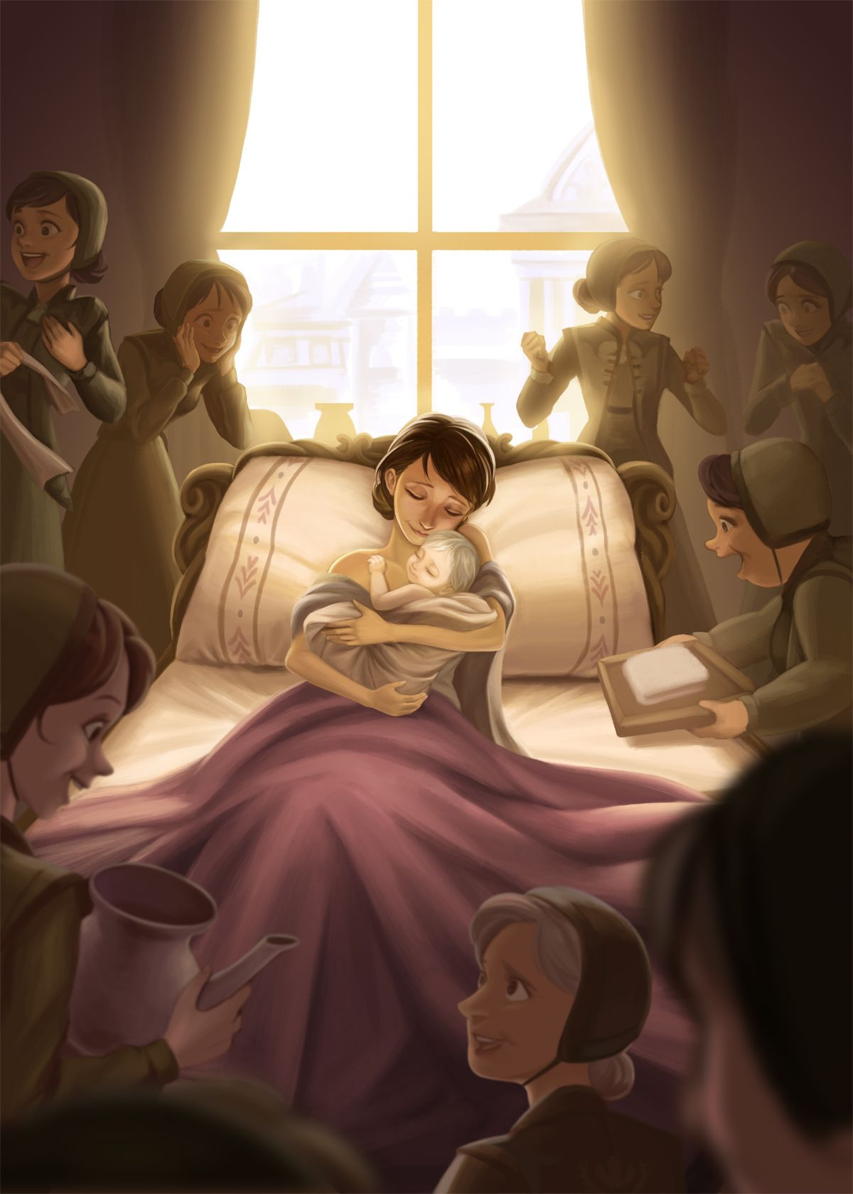 The birth of Elsa | Frozen! (All things Disney) | Pinterest