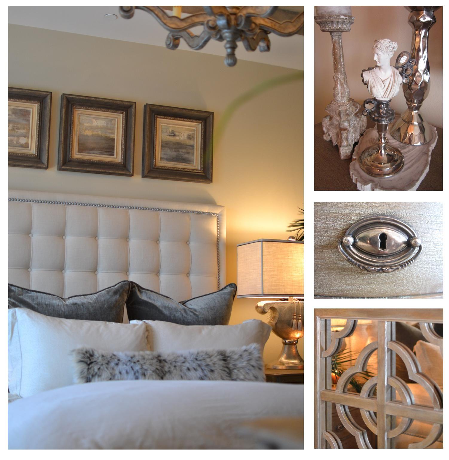 Best Rustic Hollywood Glam Master Bedroom Design 400 x 300