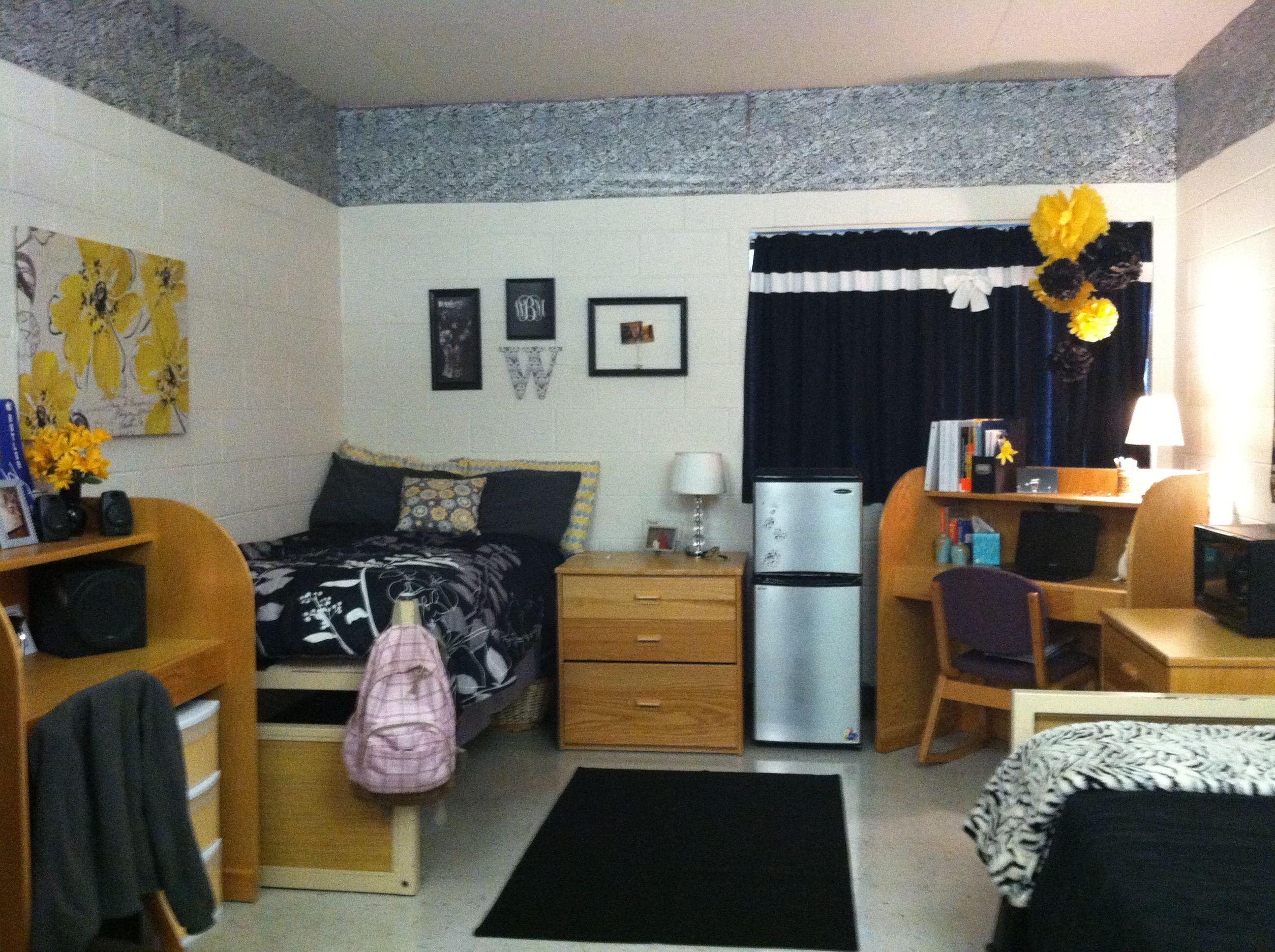 Decorating Ideas > Homey Dorm Room Setup  College Rooms  Pinterest ~ 232709_Dorm Room Setup Ideas
