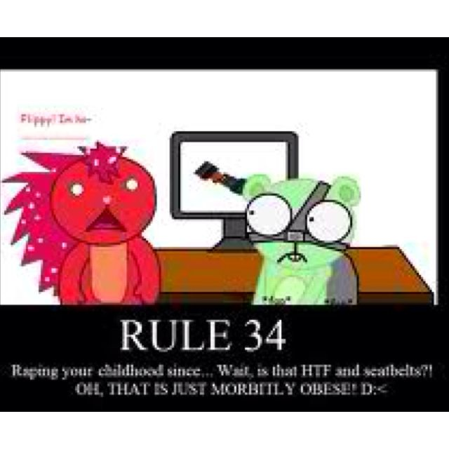 friends rule 34