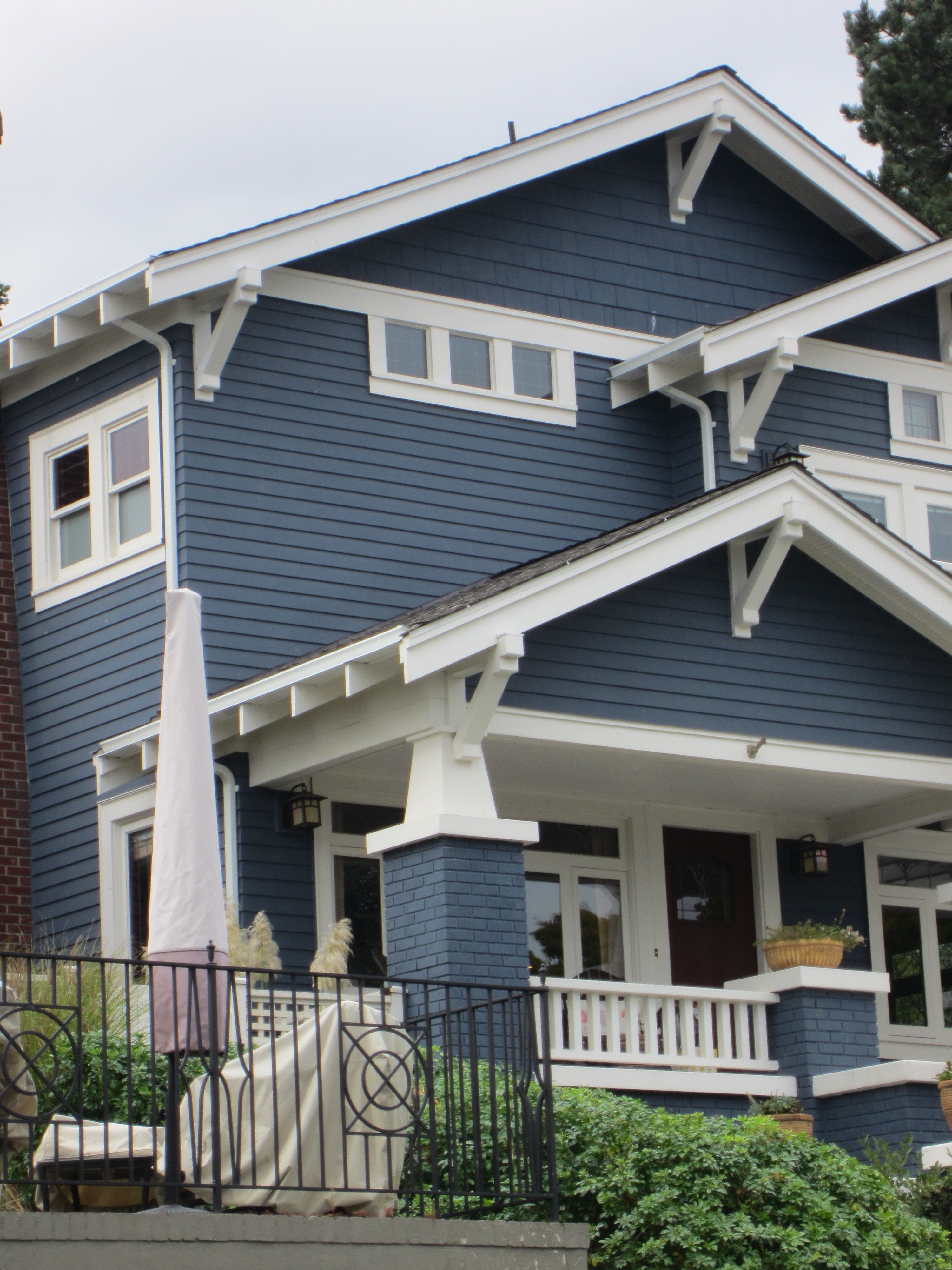 blue craftsman for the home pinterest
