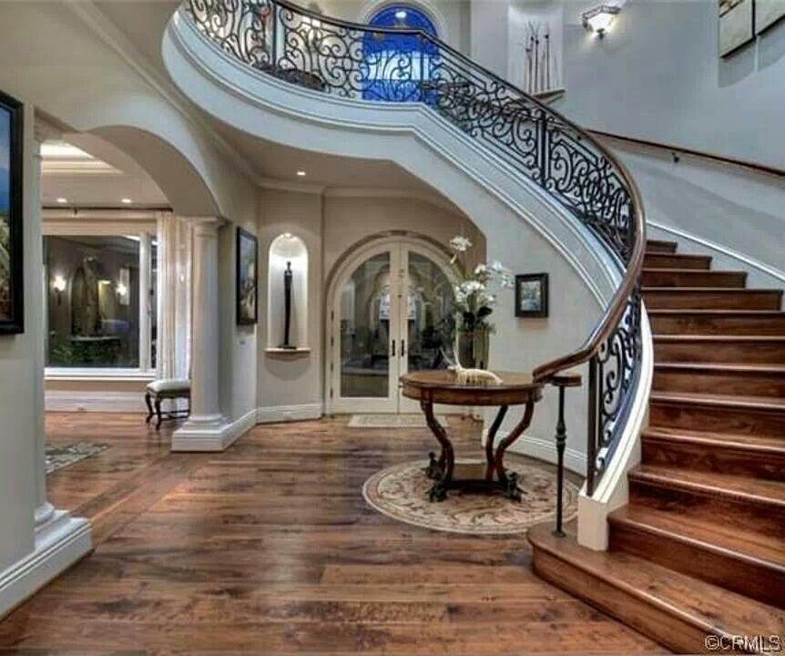 Elegant House Foyer : Elegant residences foyers stairs pinterest