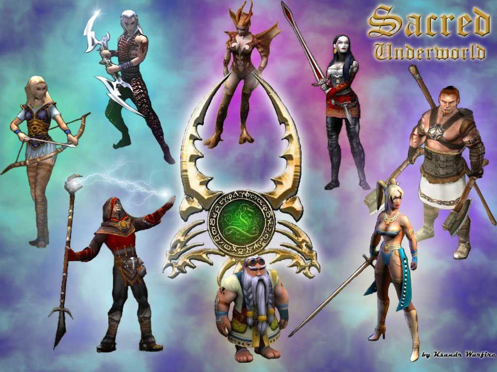 Personagens de Sacred Underworld