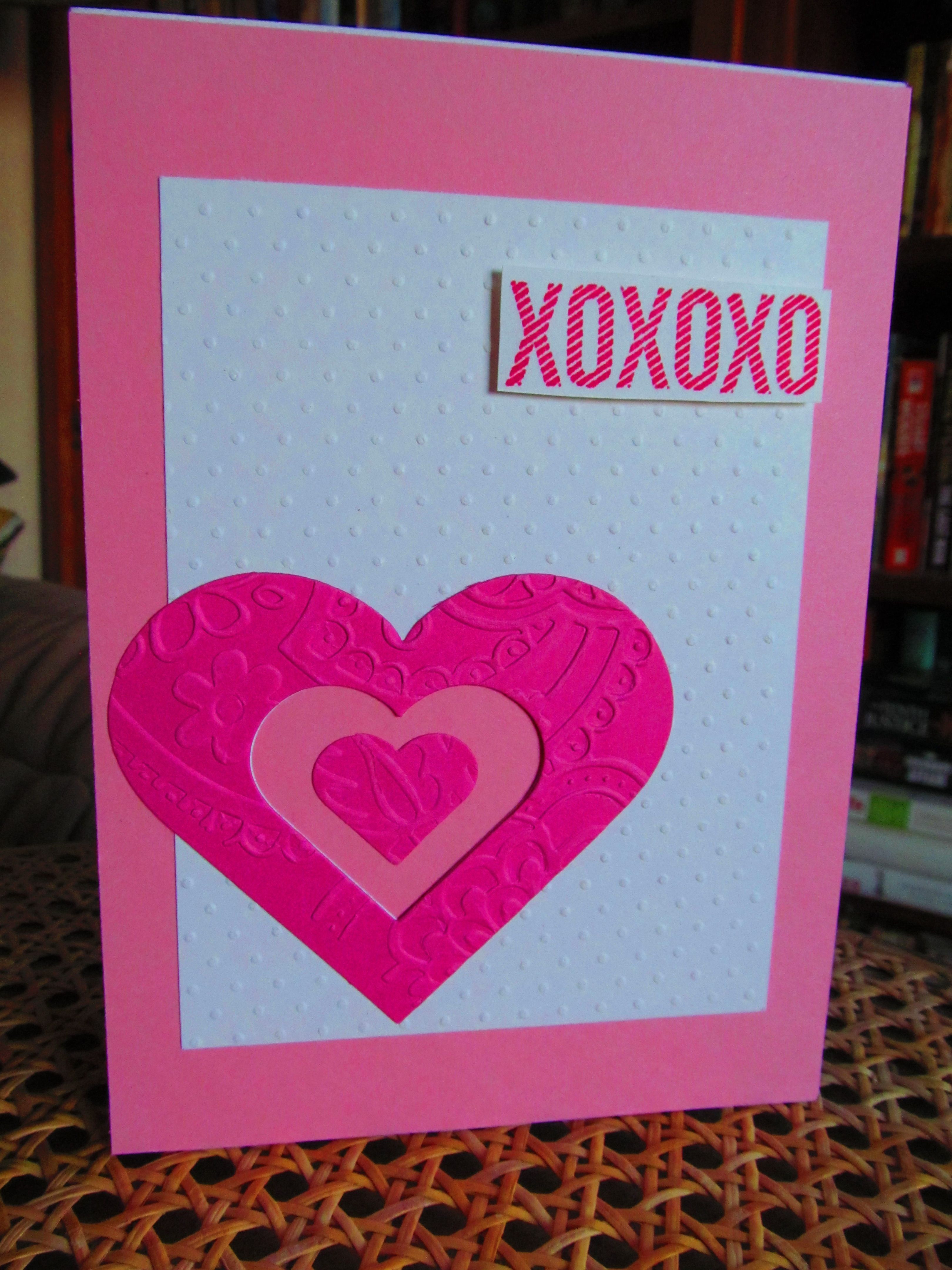valentine crafts using hearts