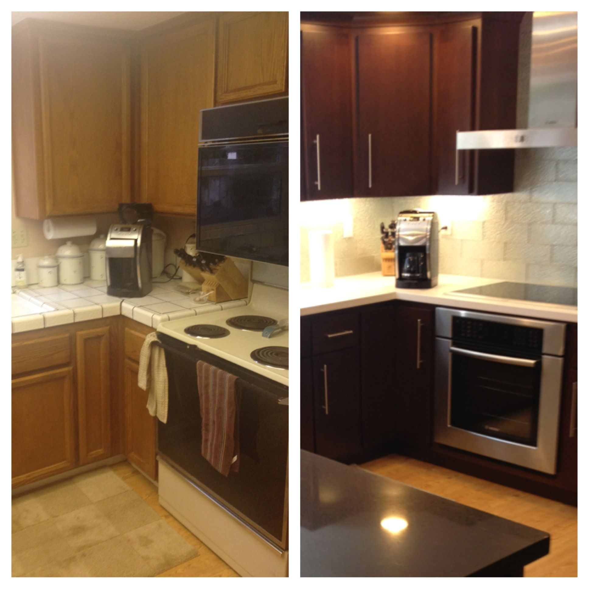 Before And After Kitchen Remodels Decor Gorgeous Inspiration Design