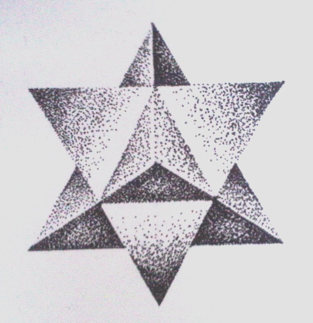 Pin three triangles on the inside of her left wrist on pinterest - Tatouage 3 points en triangle ...