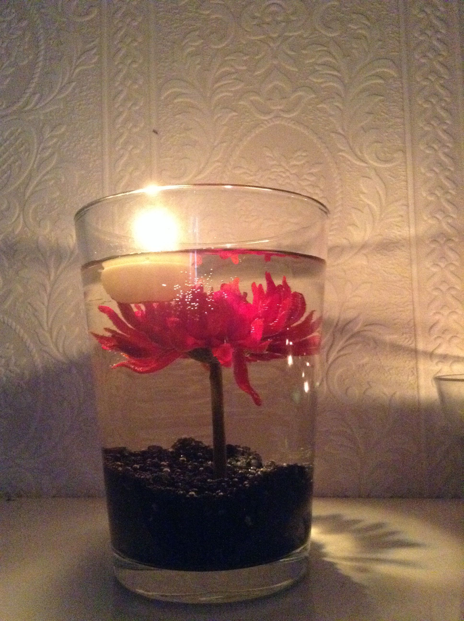 Floating candle diy centerpiece creative ideas pinterest