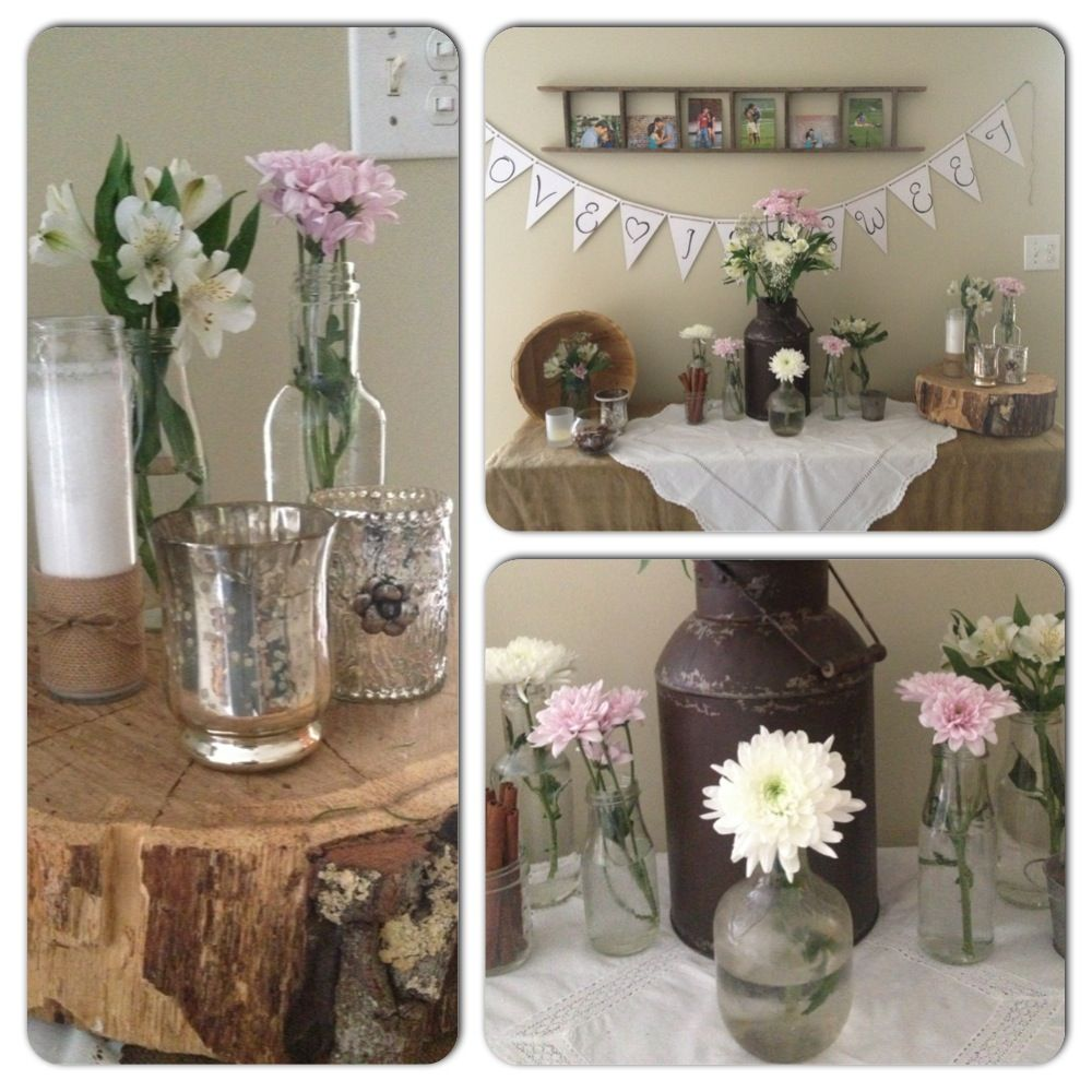 Amber 39 s rustic wedding shower wedding shower d pinterest What to buy for a bridal shower