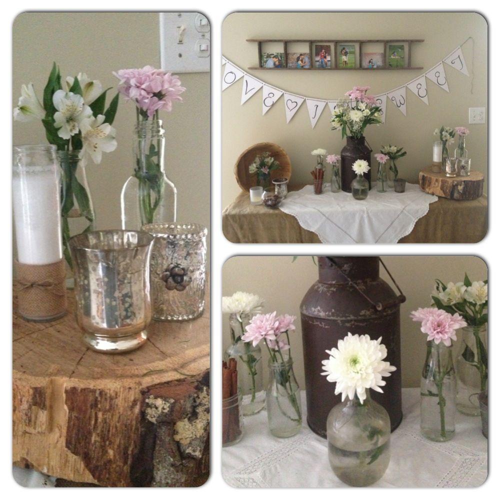 amber 39 s rustic wedding shower wedding shower d pinterest. Black Bedroom Furniture Sets. Home Design Ideas
