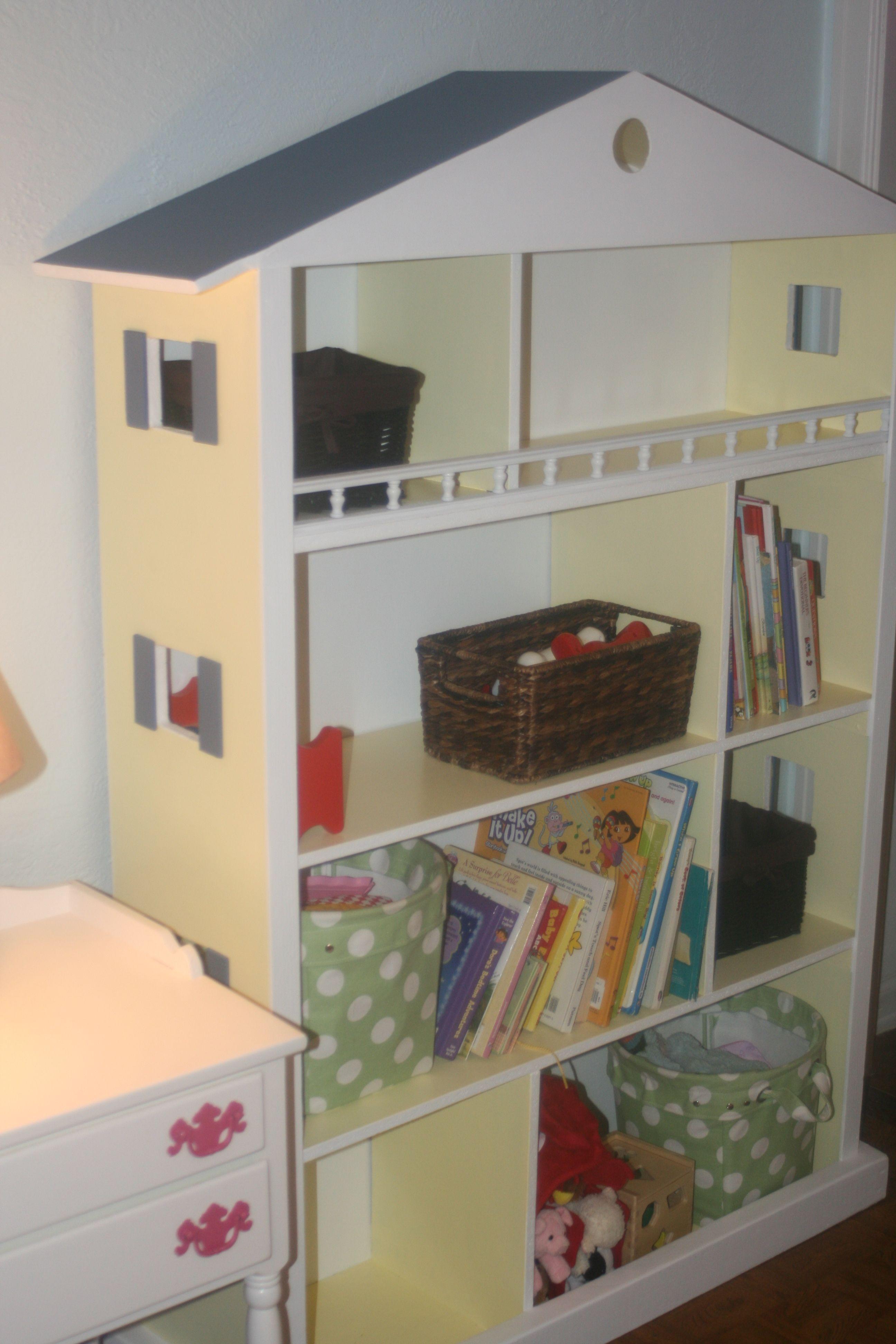 Dollhouse bookshelf  Kids Rooms  Pinterest