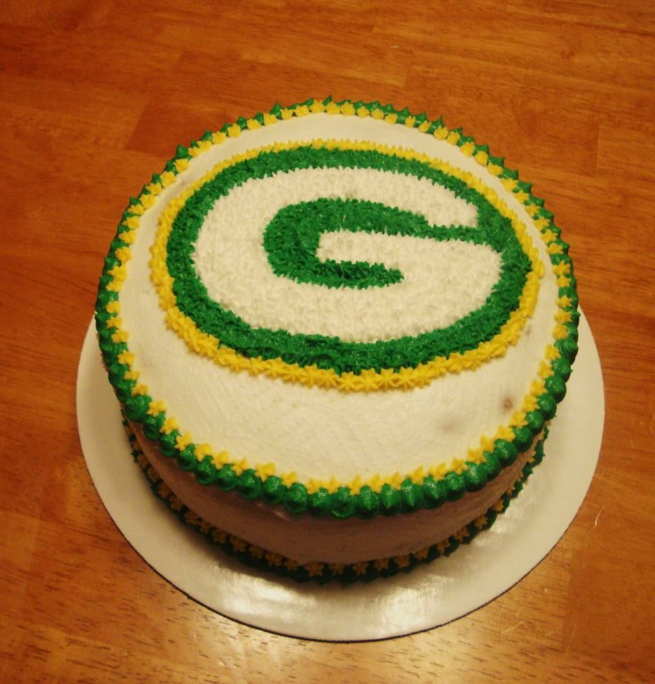 green bay packer birthday cakes