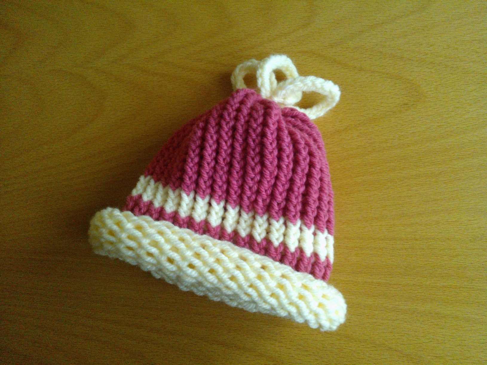Knitting Loom Hat : Another baby loom knit hat pinterest
