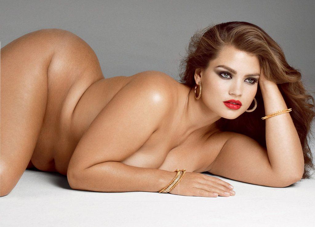Model beautiful plus size