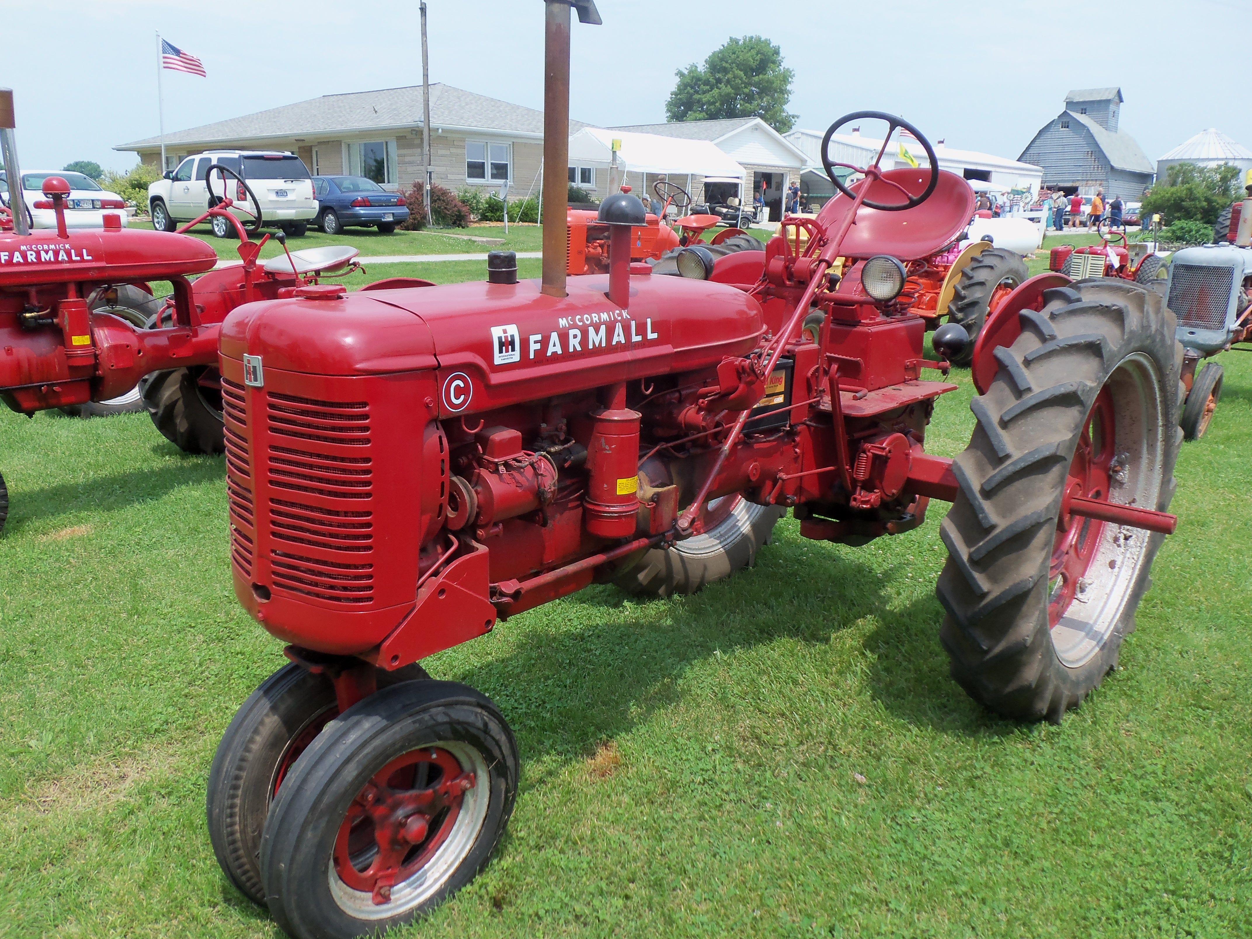 Farmall C Tractor : Farmall c tractor international harvester pinterest