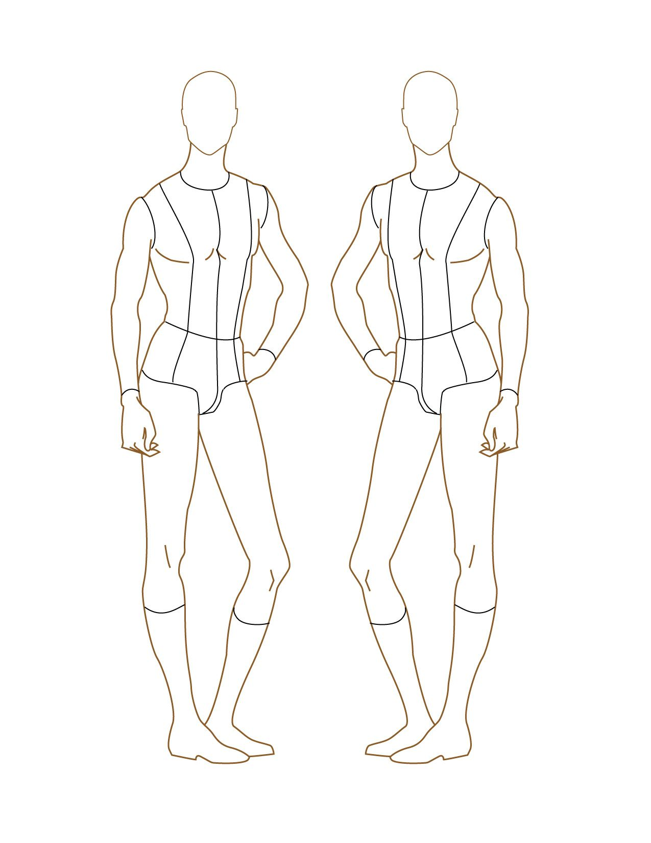 How to draw figures for fashion design 82