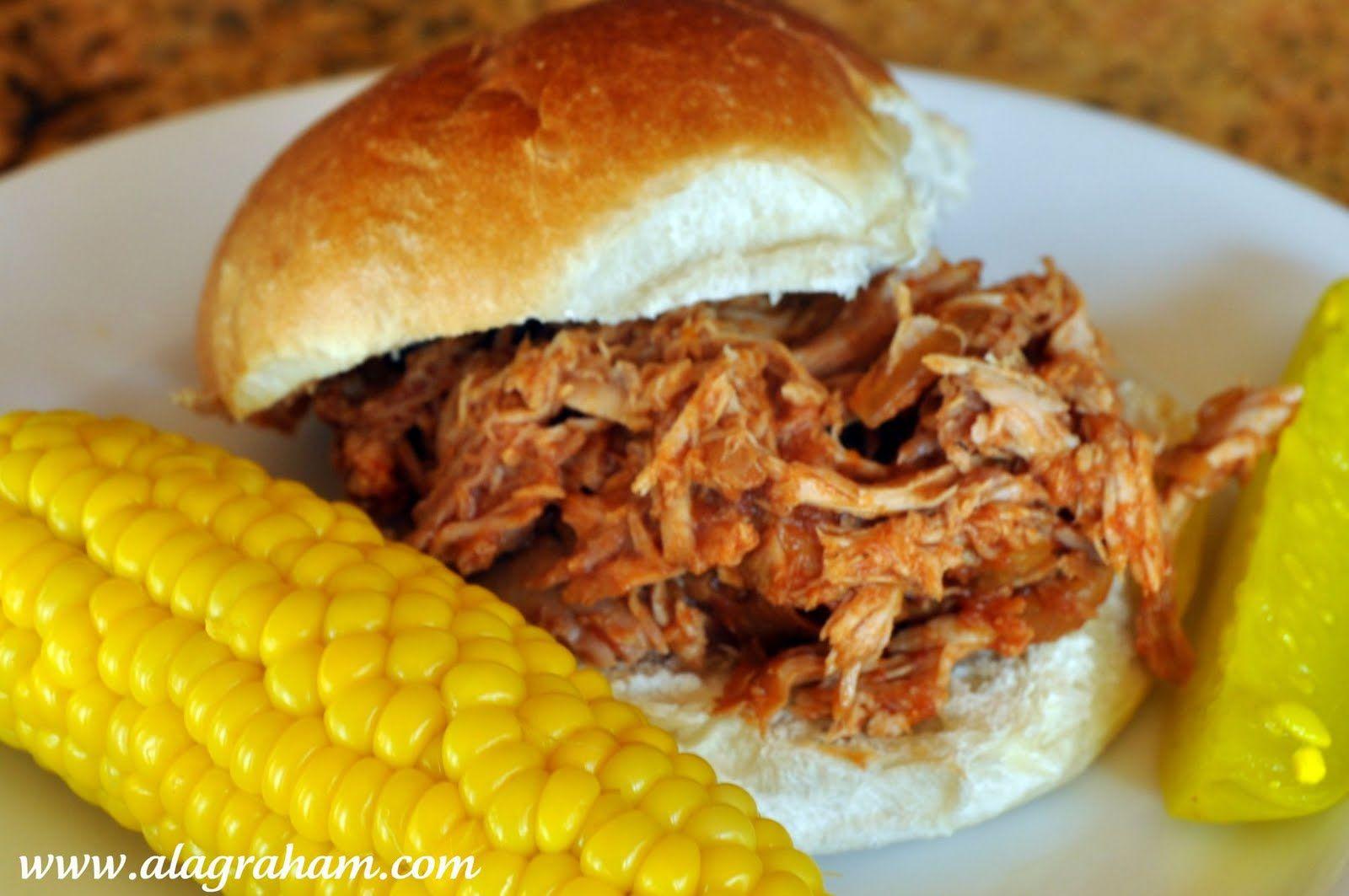 BBQ pork sandwich. | Food | Pinterest
