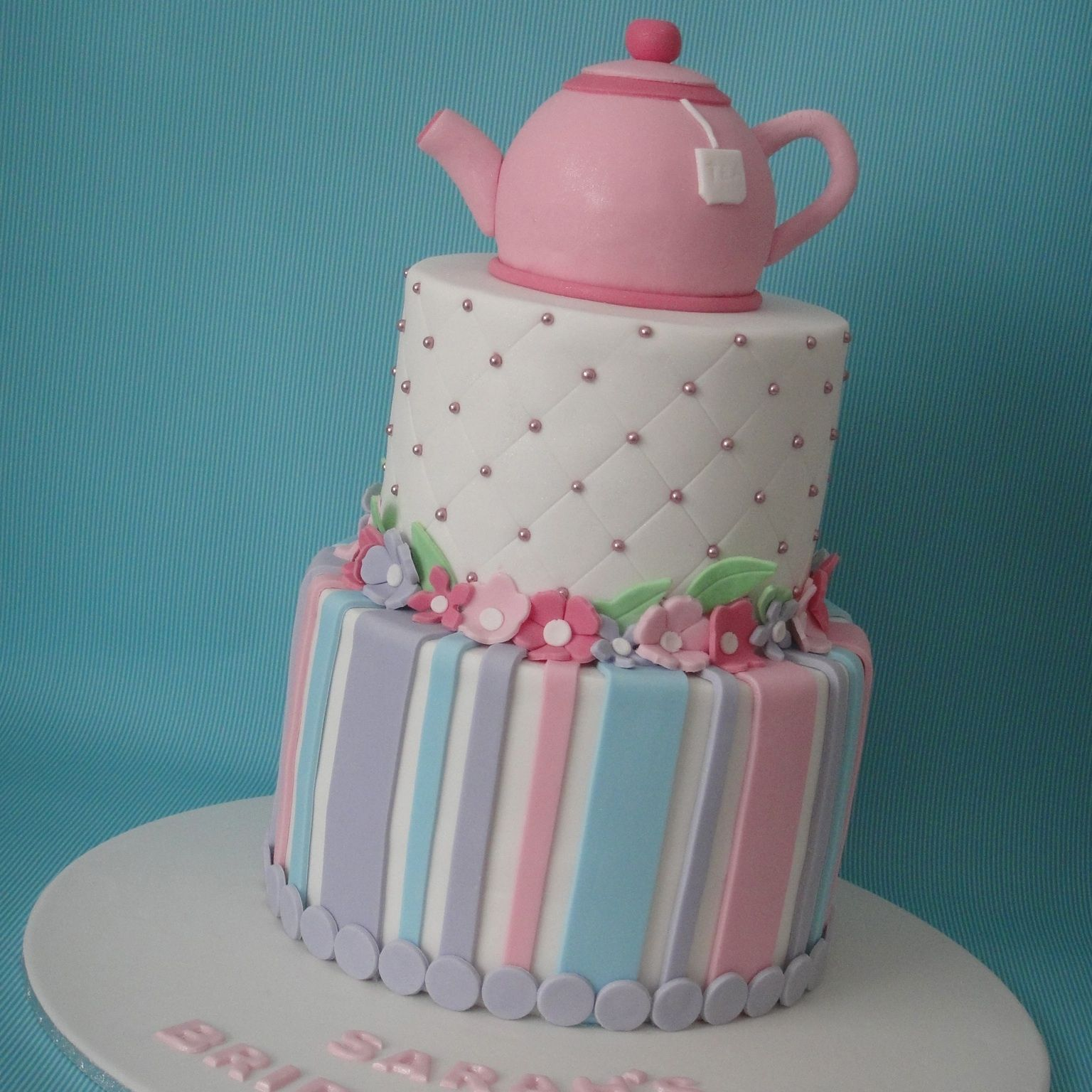 Bridal shower kitchen tea cake cakes pinterest for Bridal shower kitchen tea ideas fashion