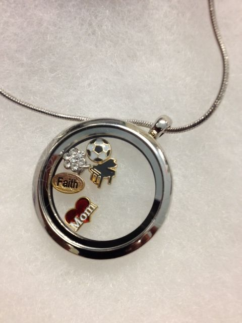 hallmark necklace with charms inside images