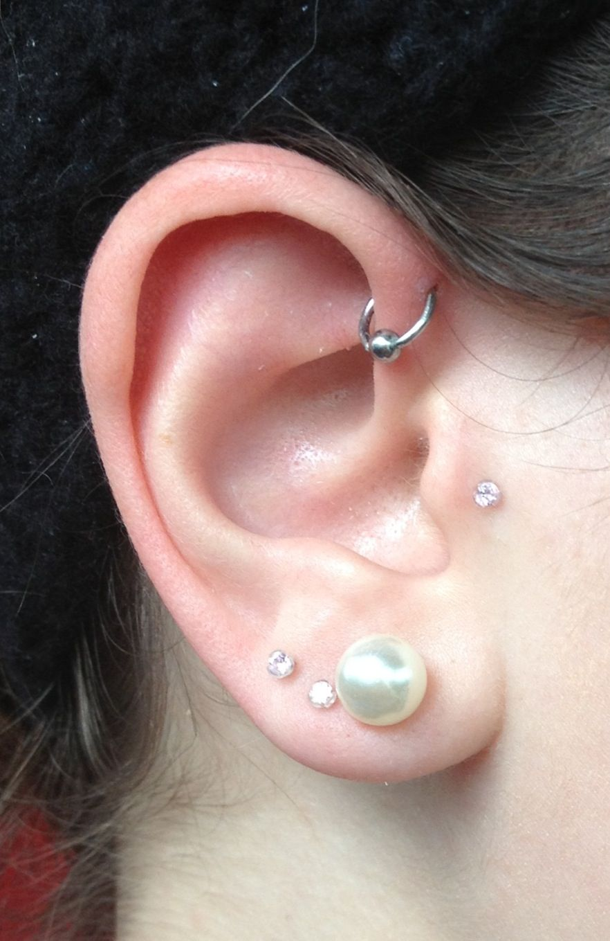 forward helix piercing i ink therefore i am pinterest. Black Bedroom Furniture Sets. Home Design Ideas