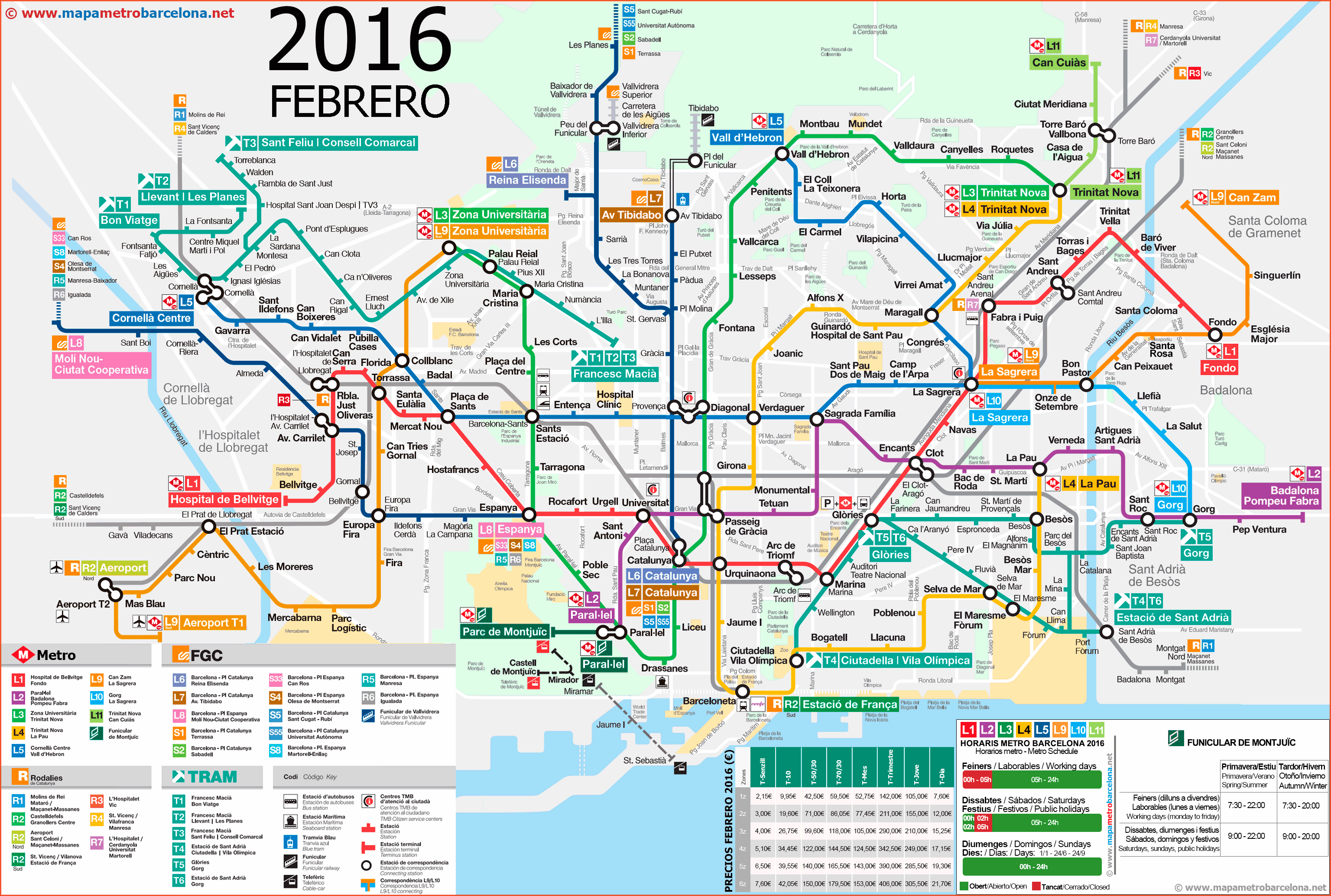Metro Barcelona Map | threeblindants