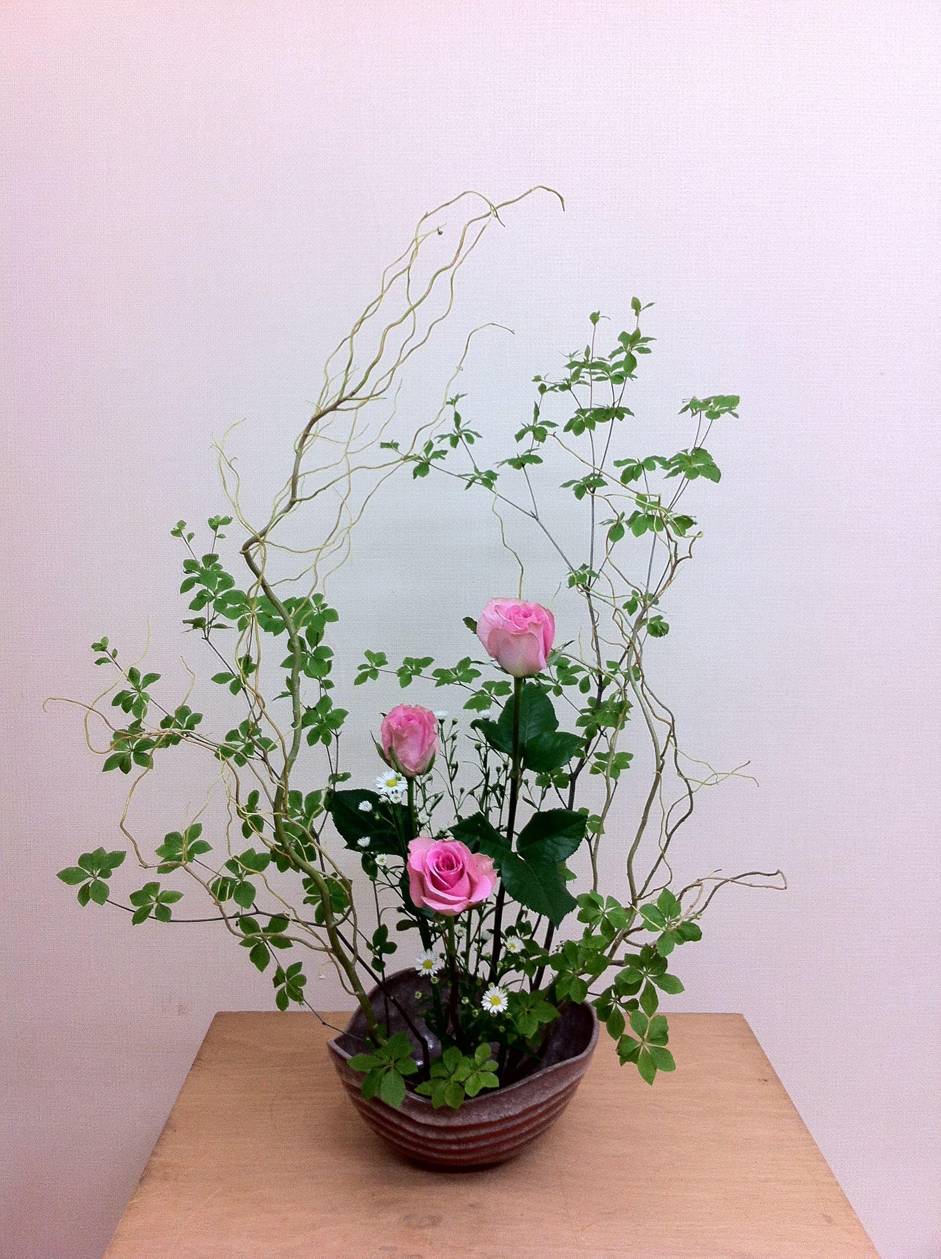 Ikebana japanese flower arrangement floral art pinterest