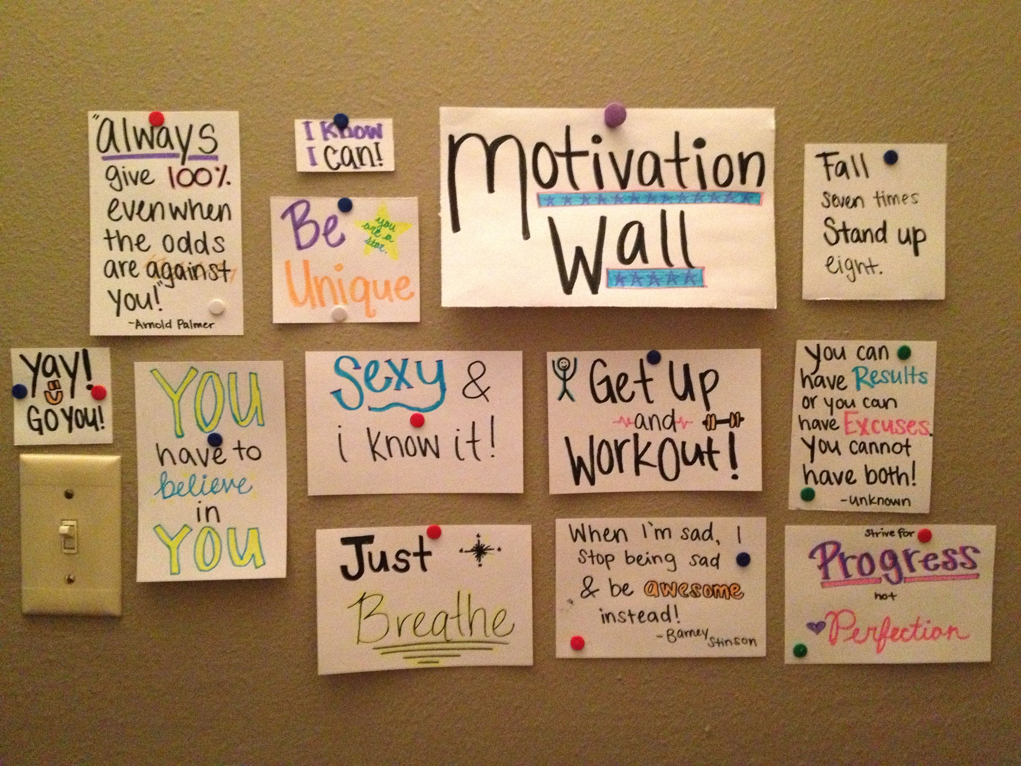 we teach high school quote motivation wall