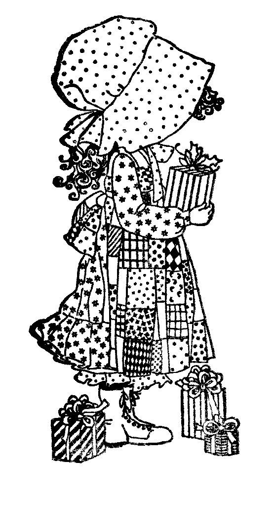 coloring pages of hollyhobbie - photo#9