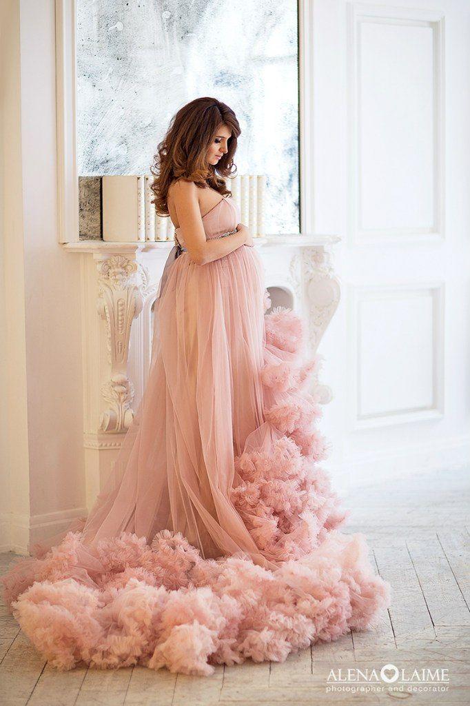 Красивые платья для беременной фотосессии 30