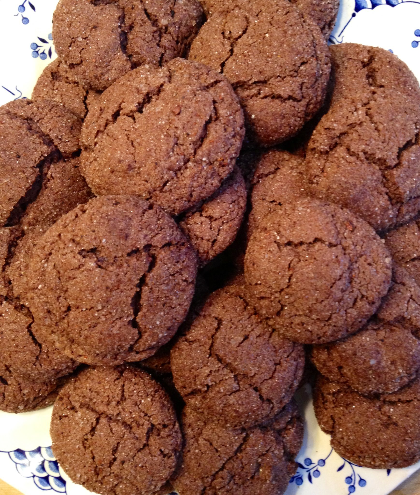 Mexican hot chocolate cookies | Yummy Desserts | Pinterest