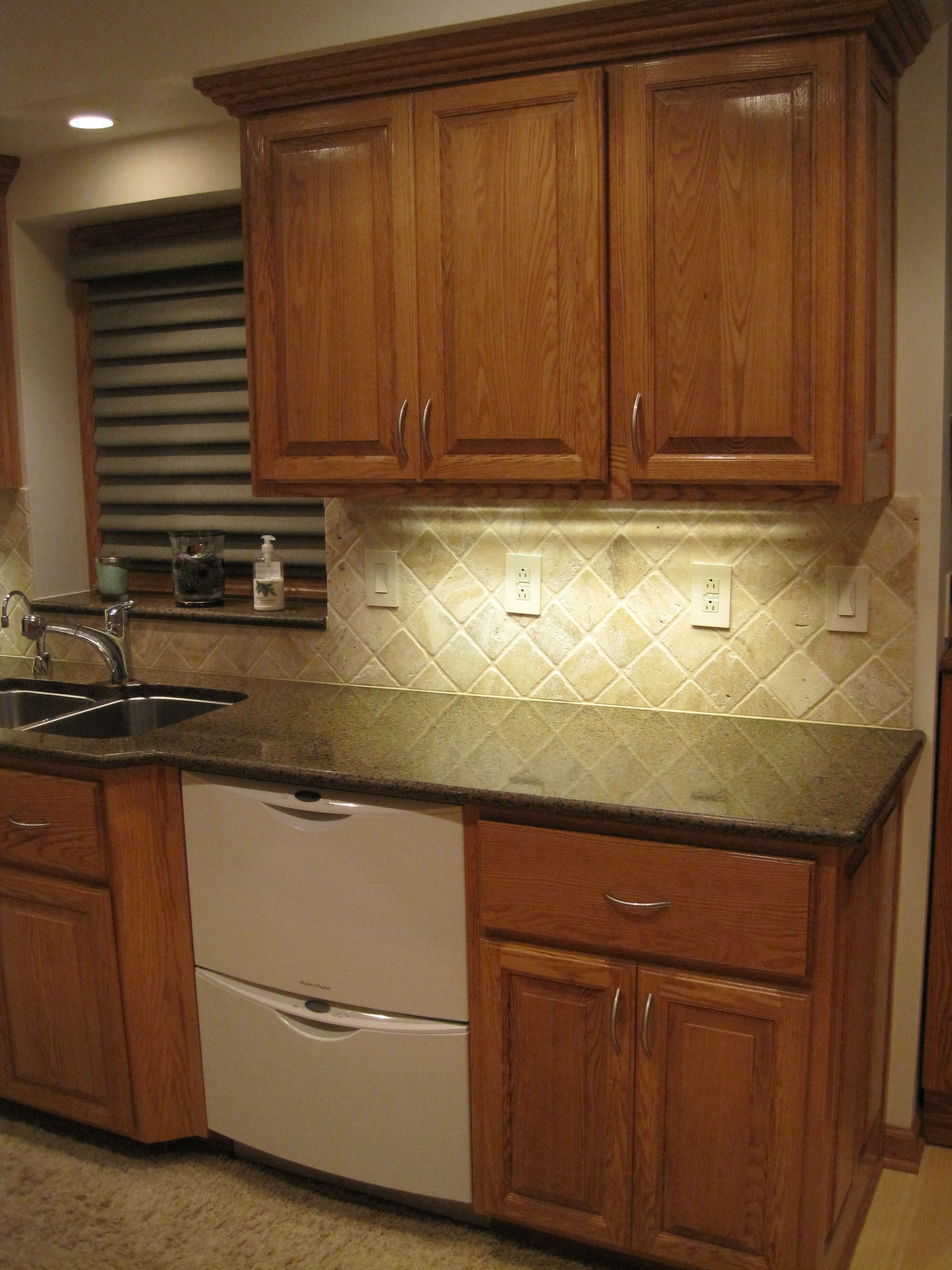 Marvelous photograph of Red Oak Kitchen Cabinets kitchen inspiration Pinterest with #A48E27 color and 2736x3648 pixels