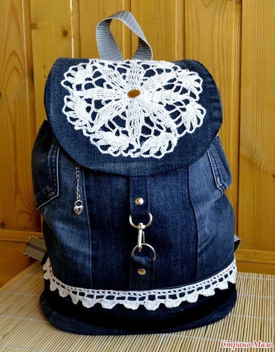 Как украсить джинсовый рюкзак фото 122