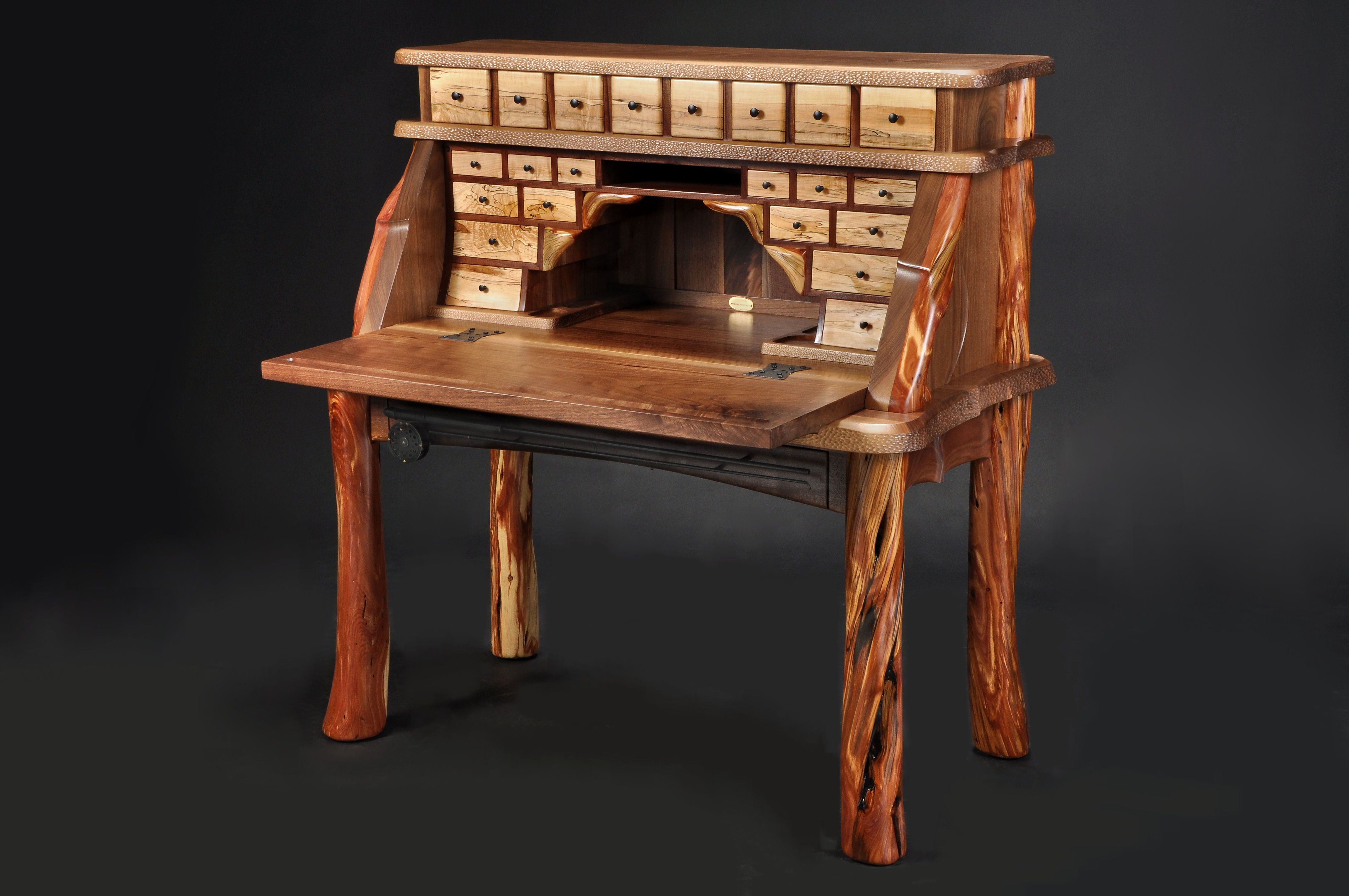 Lastest My New Fly Tying Desk  Woodworking  Pinterest