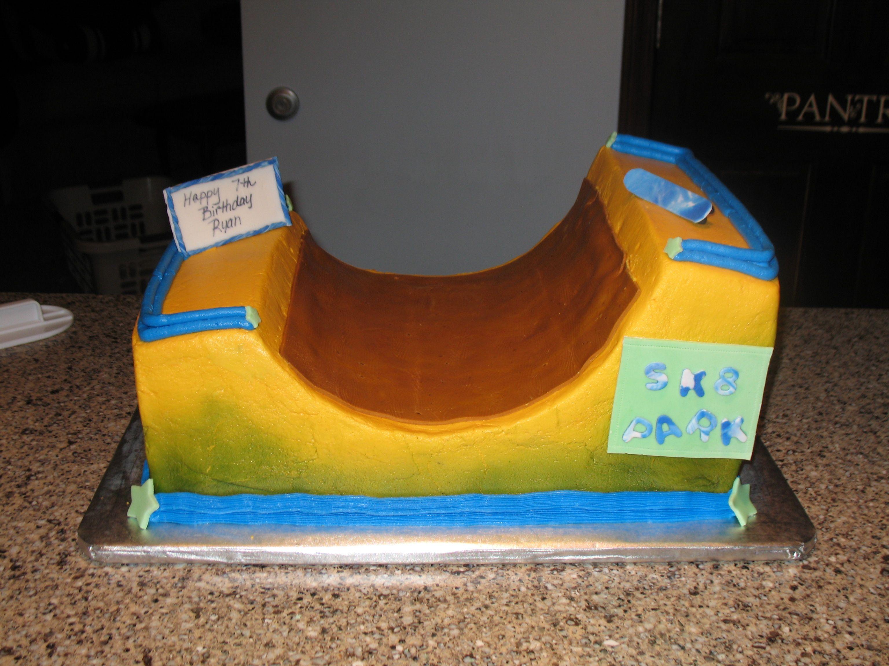 skate park cakes
