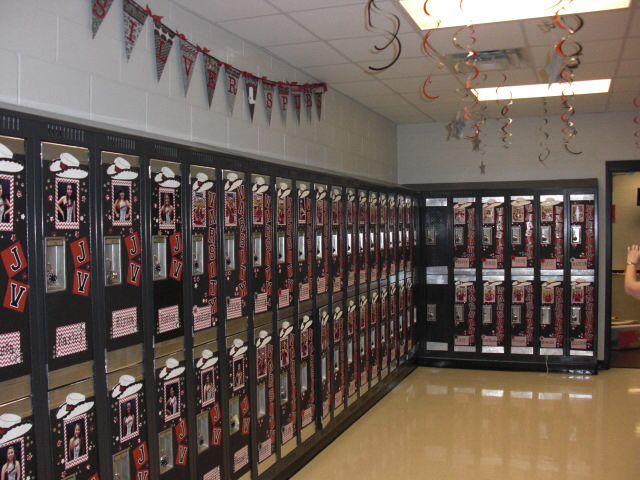 locker room decor cheer pinterest