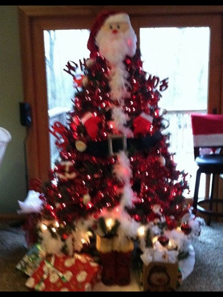 Merry christmas from the santa tree holiday goodies pinterest