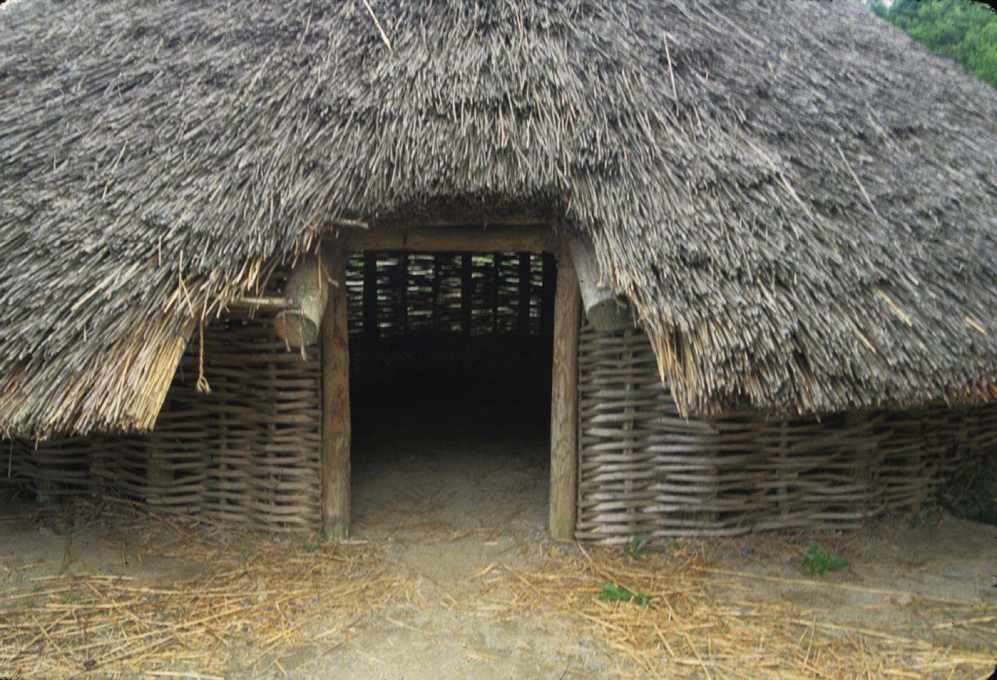 Permanent Survival Shelter : Irish crannog semi permanent shelter pinterest