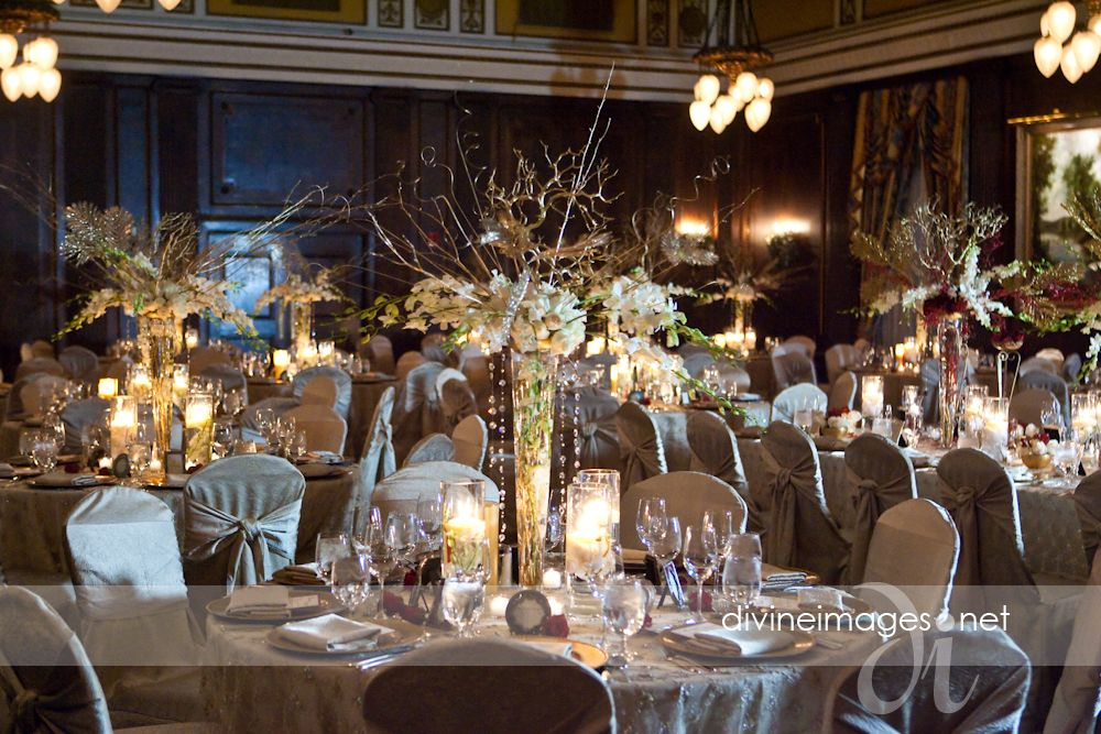 Elegant centerpieces wedding ideas pinterest for Winter wedding centerpiece ideas