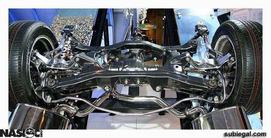 Subaru Independent Rear Suspension Vehicular Poetry