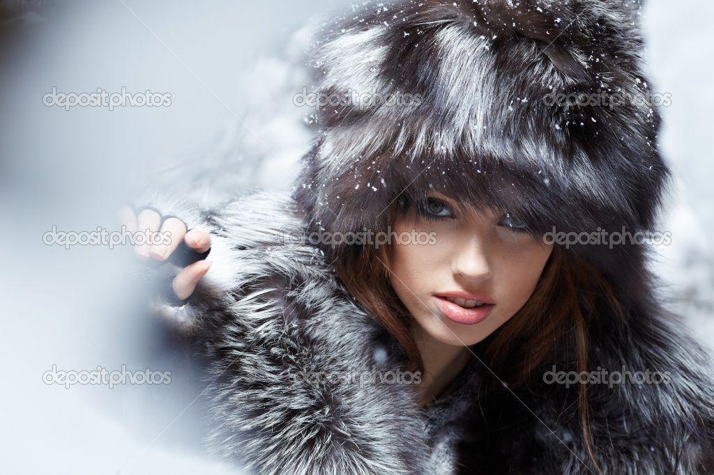 картинки модных зимних шапок