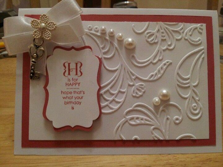 Stampin up birthday card ideas pinterest