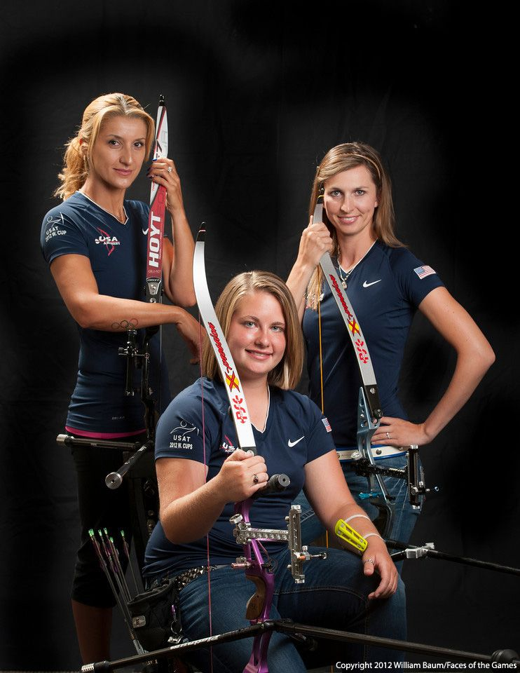 2012 USA Women's Archery Team | Women's World of Archery ...