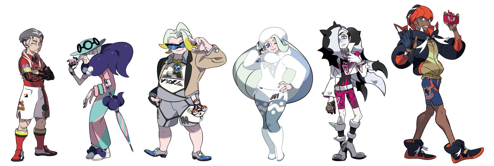 ポケモン剣盾 キャラ 身長