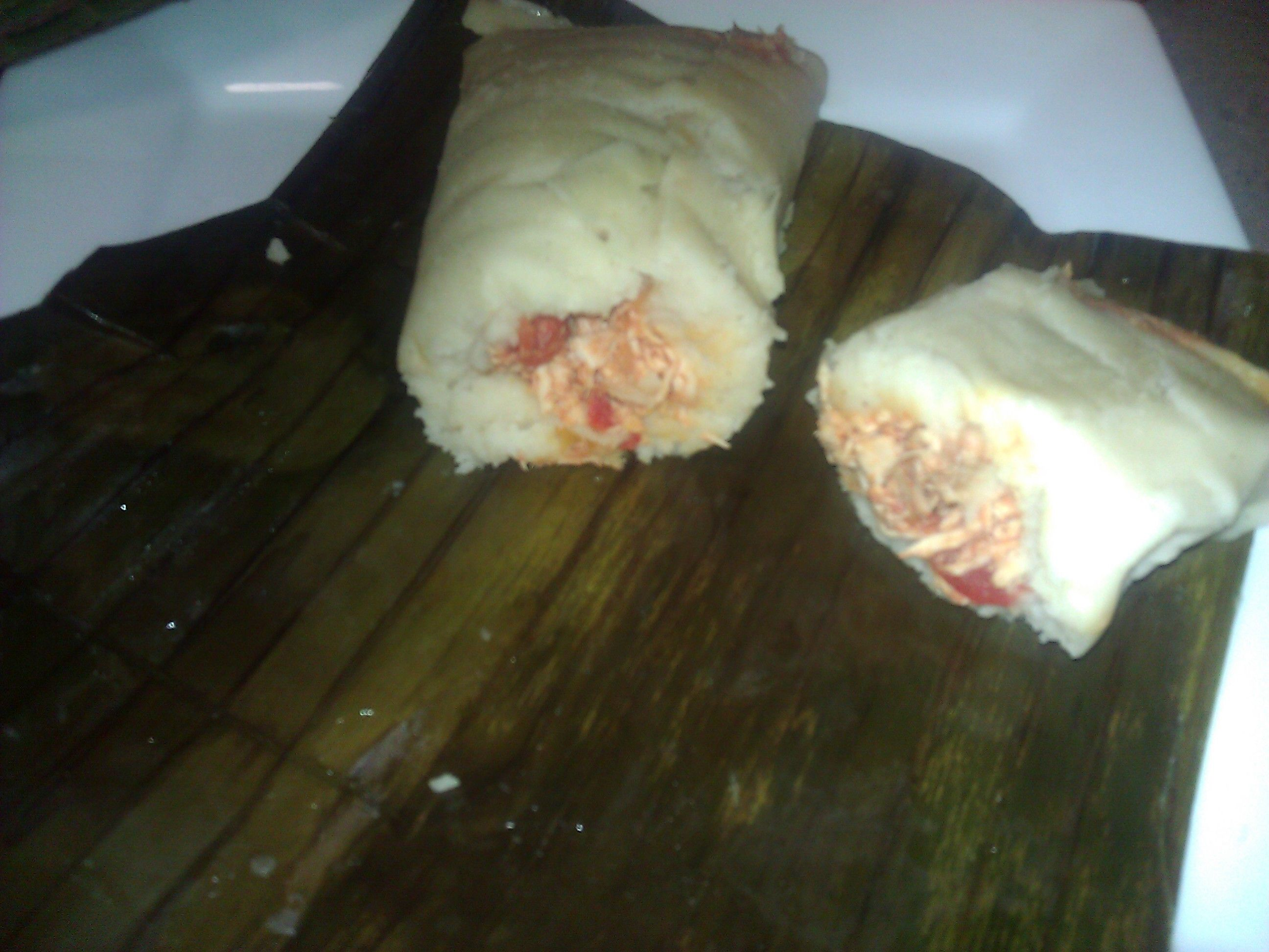 chicken banana leaf wrapped tamales | Delish-ness! | Pinterest