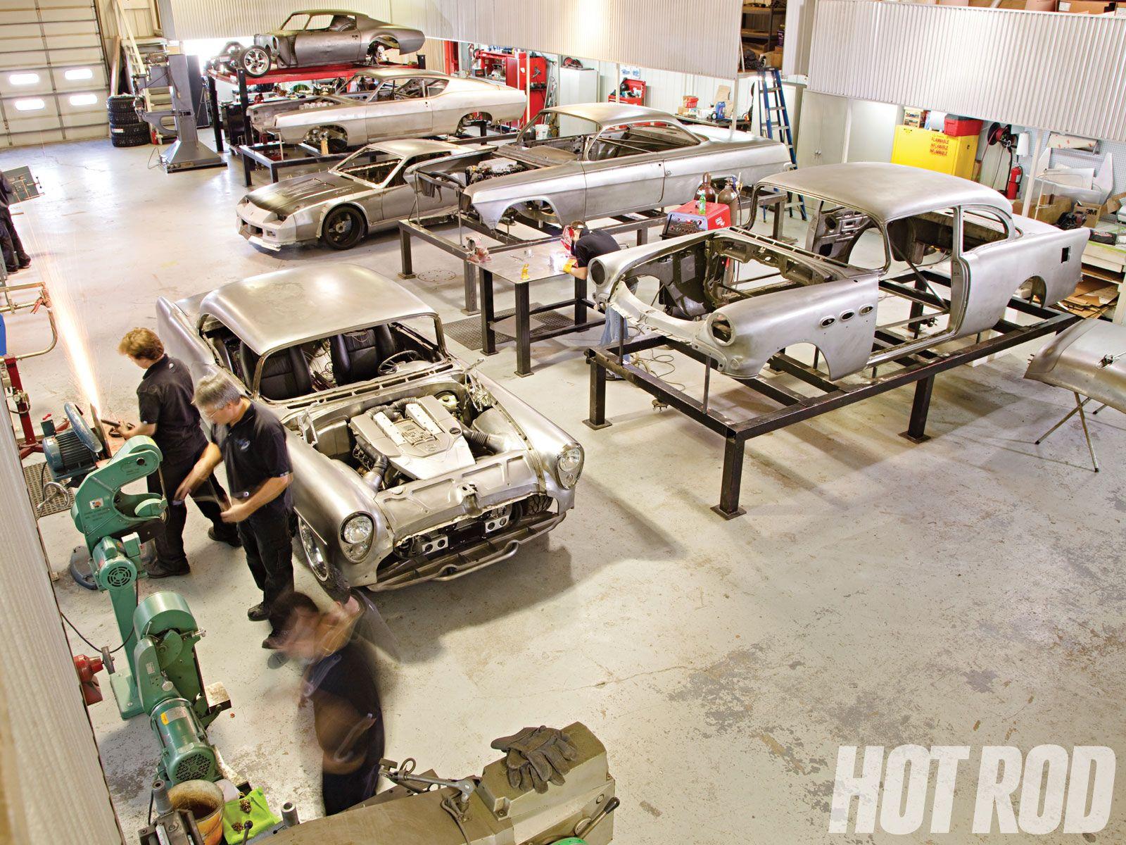 Hot Rod Garage Ideas : Share