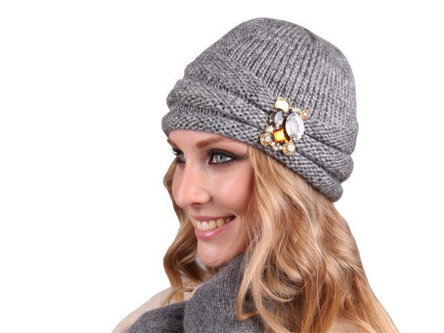 Шапки женские зима вязанные схемы