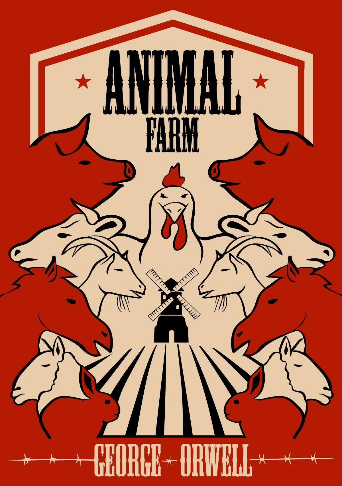 Pictures of animal farm the book