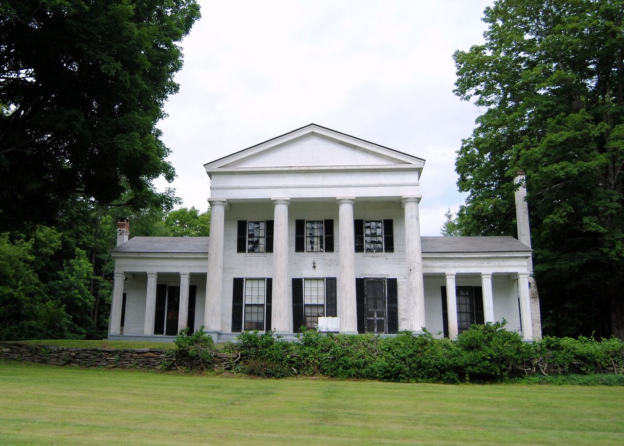 Greek revival homes ideas house plans 30412 for Revival home